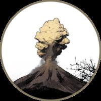 [Kaffeepur] Logo Vulcano Nero