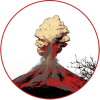 [Kaffeepur.ch] Logo Vulcano Rosso